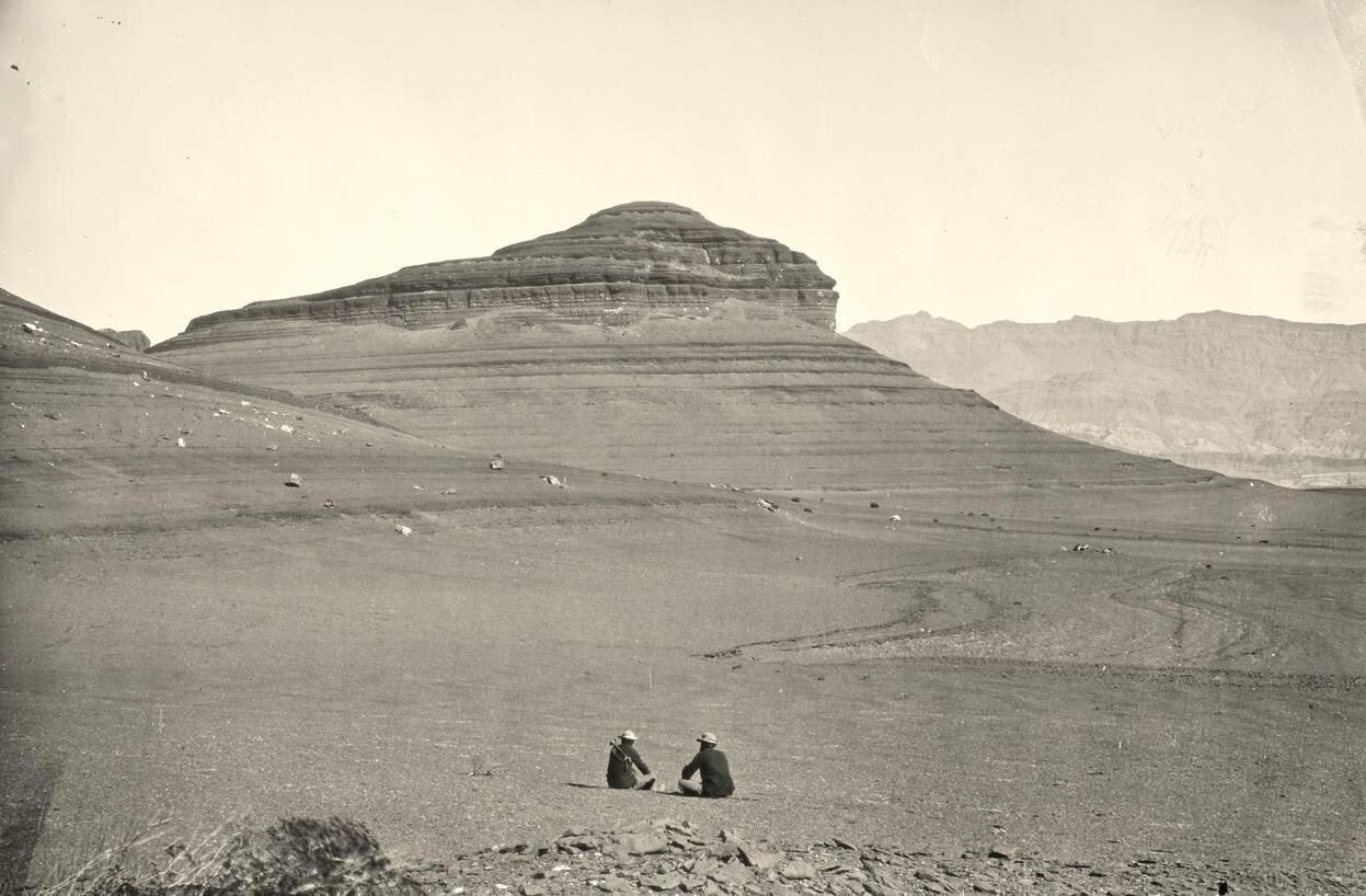 Плато к северу от реки Колорадо, 1872