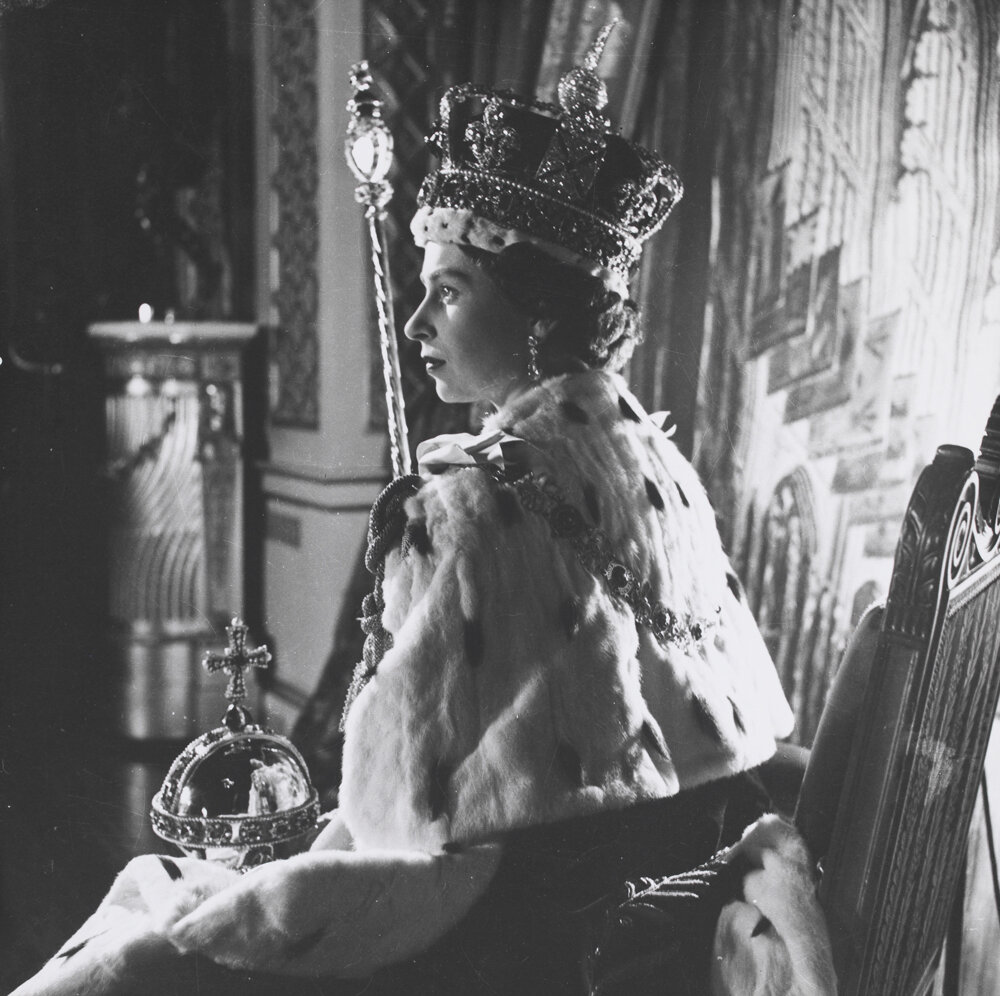 Королева Елизавета II 2 июня 1953 г.
