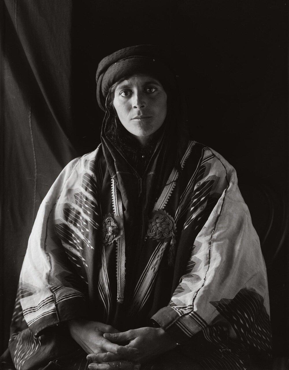 Невеста. Бедуинская свадьба. Трансиордания. 1900-1920 гг.