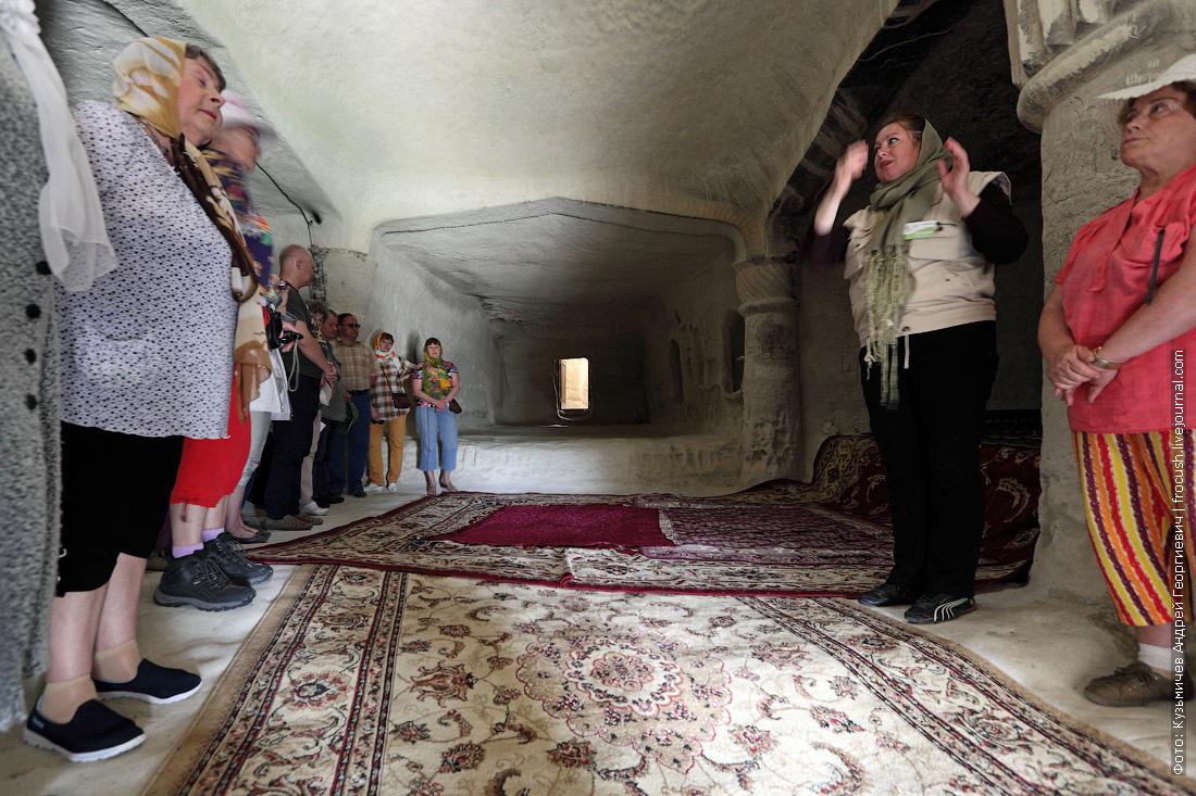 Мангышлак подземная мечеть Шакпак-Ата