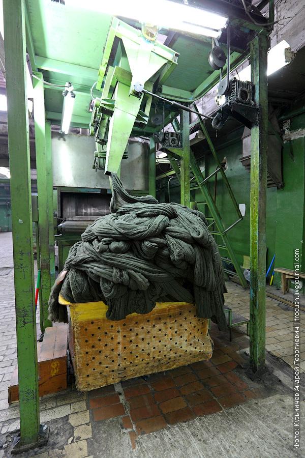 сушильная машина лавсанового волокна