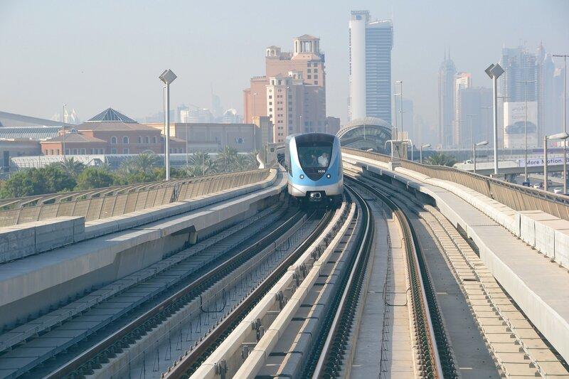 Ветка Дубайского метрополитена...