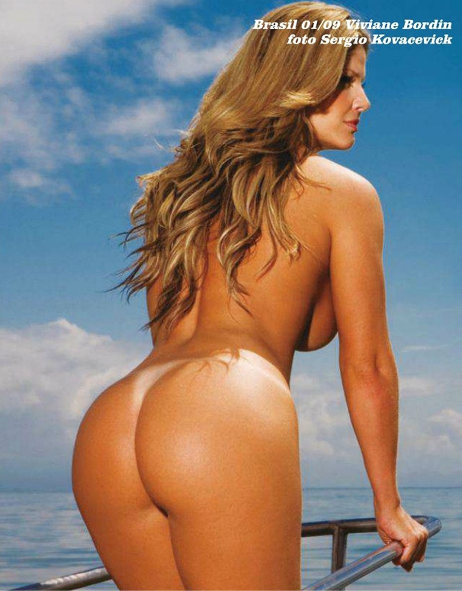 Ass of the World / Rear View - Playboy - самые красивые попы - Viviane Bordin