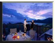 Сейшелы.О.Праслин. Raffles Praslin SeychellesRaffles_Romance_-In-villa_Romantic_Dinner