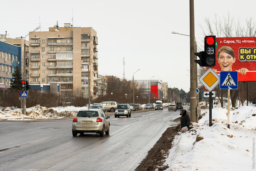 новый светофор в Сарове