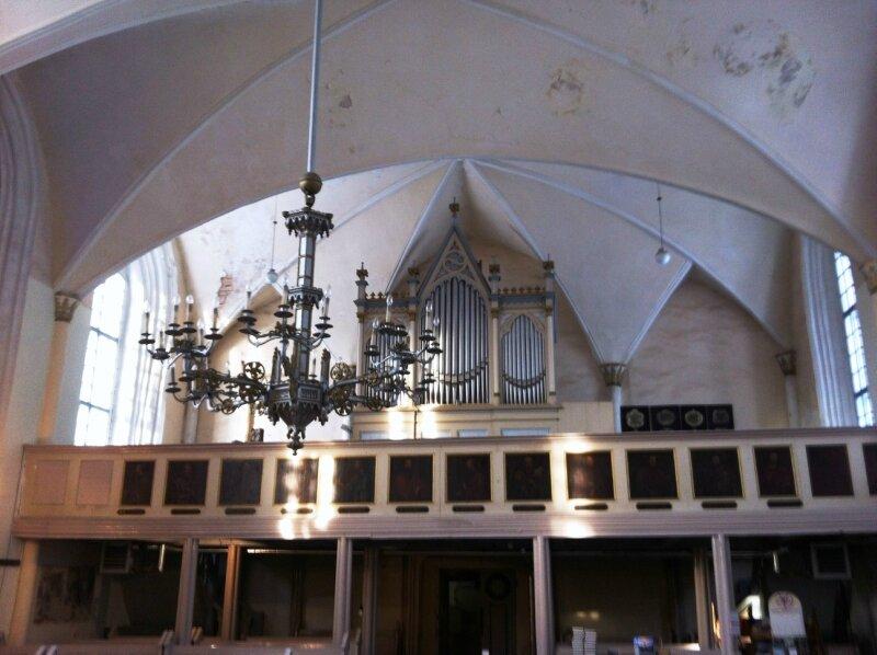 Лиелстраупская церковь. Орган