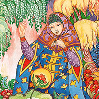 Надежда Комарова, Аленький цветочек