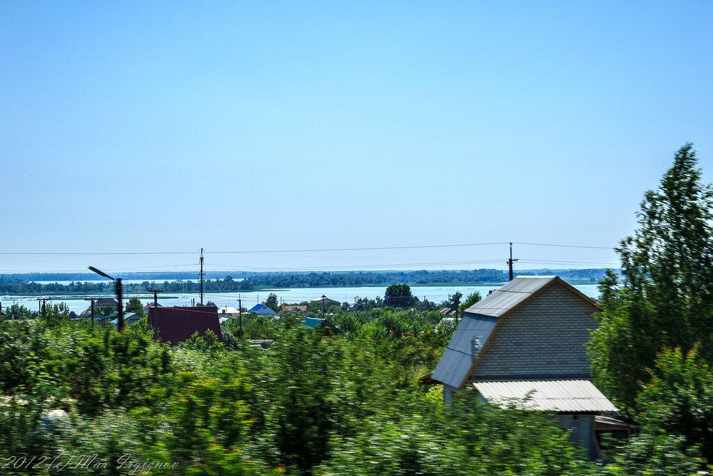 Волга на подъездах к Саратову