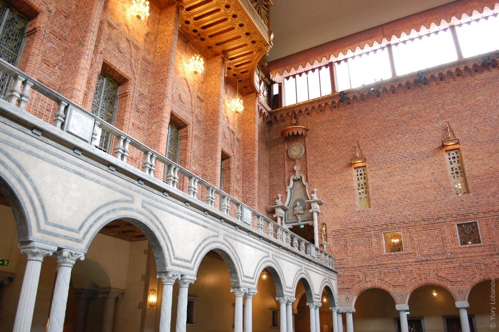 Стокгольмская ратуша, Швеция