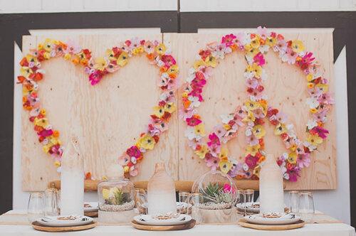 Бумажные цветы для декора