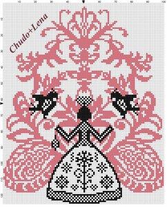 Схема вышивки крестом скачать бесплатно макошь