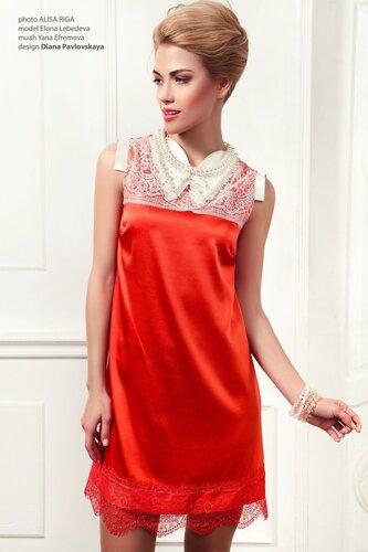 Вечернее яркое платье Diana Pavlovskaya