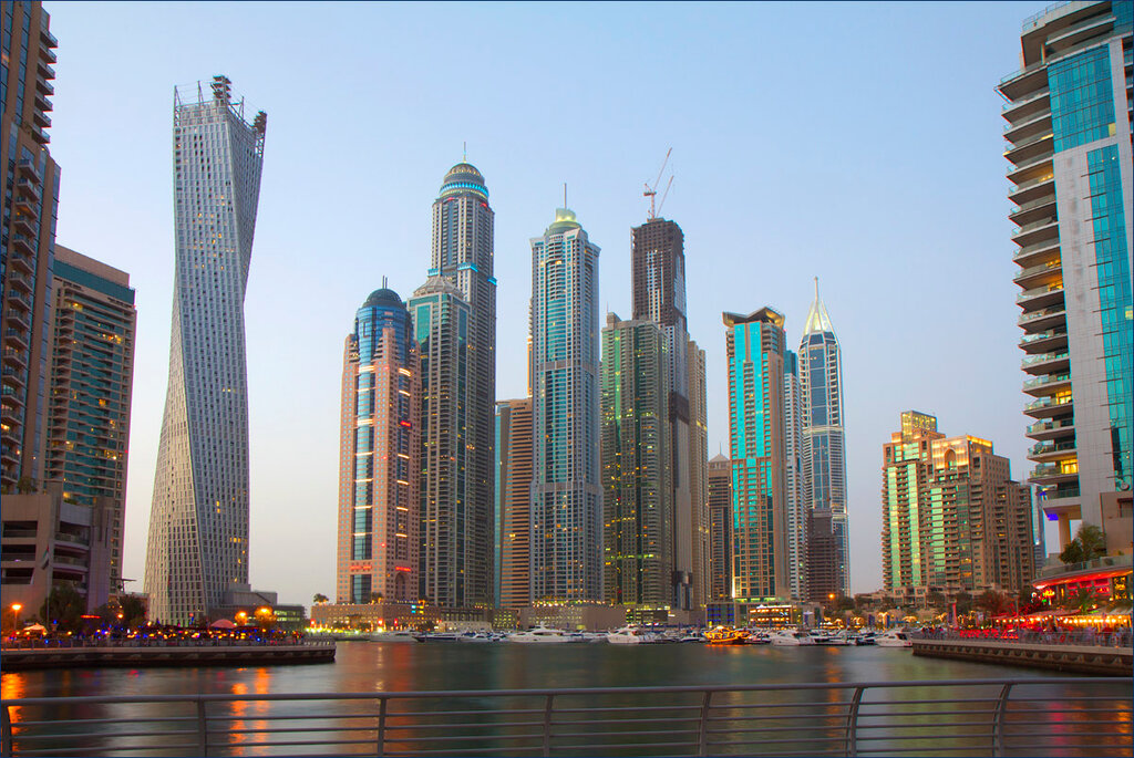 ОАЭ.Вечерний Дубай.
