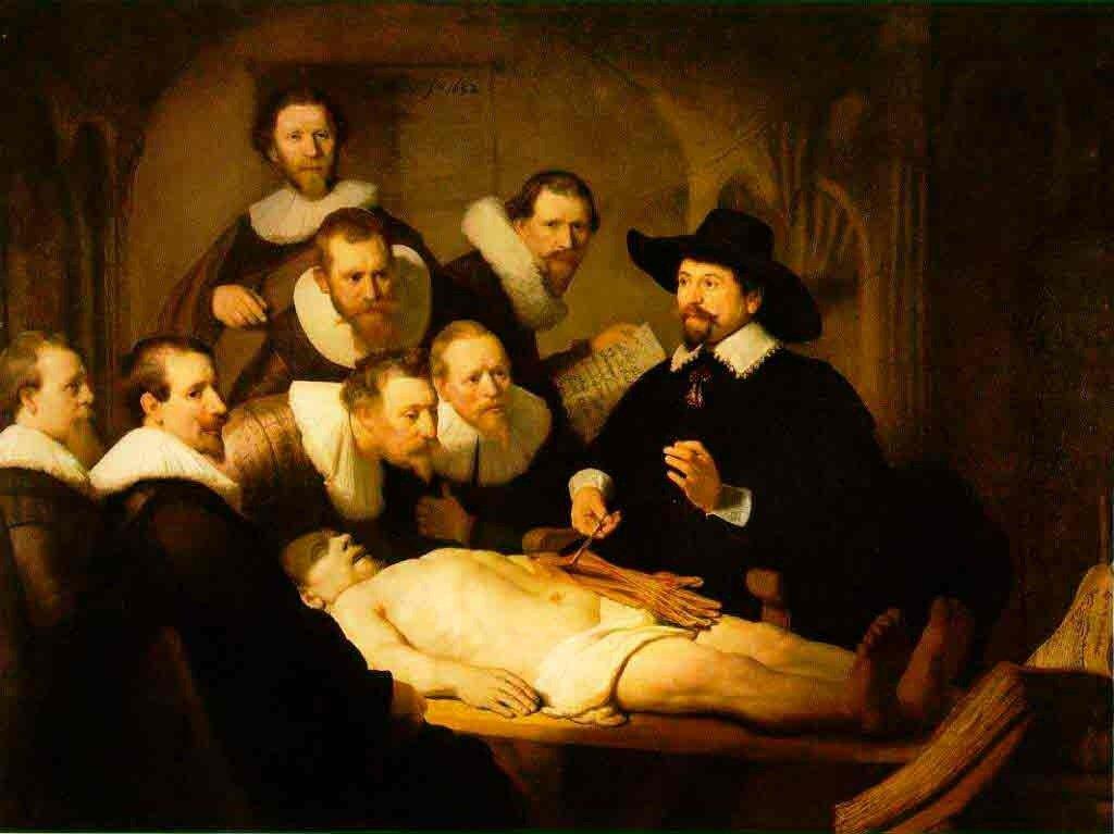 Рембрандт. Урок анатомии доктора тульпа