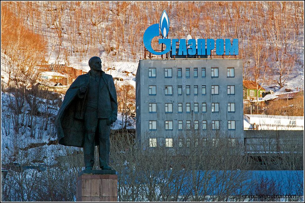 головной Сбербанк и офис Газпрома в Петропавловск-Камчатском