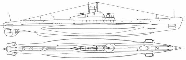 Подводные лодки проекта 'Щ' - 'Щука' серии X