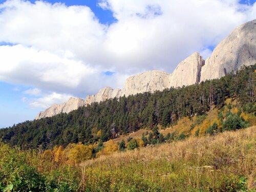 Фотографии Светланы Левады, Кавказ, Тхач, сентябрь 2012, в походе