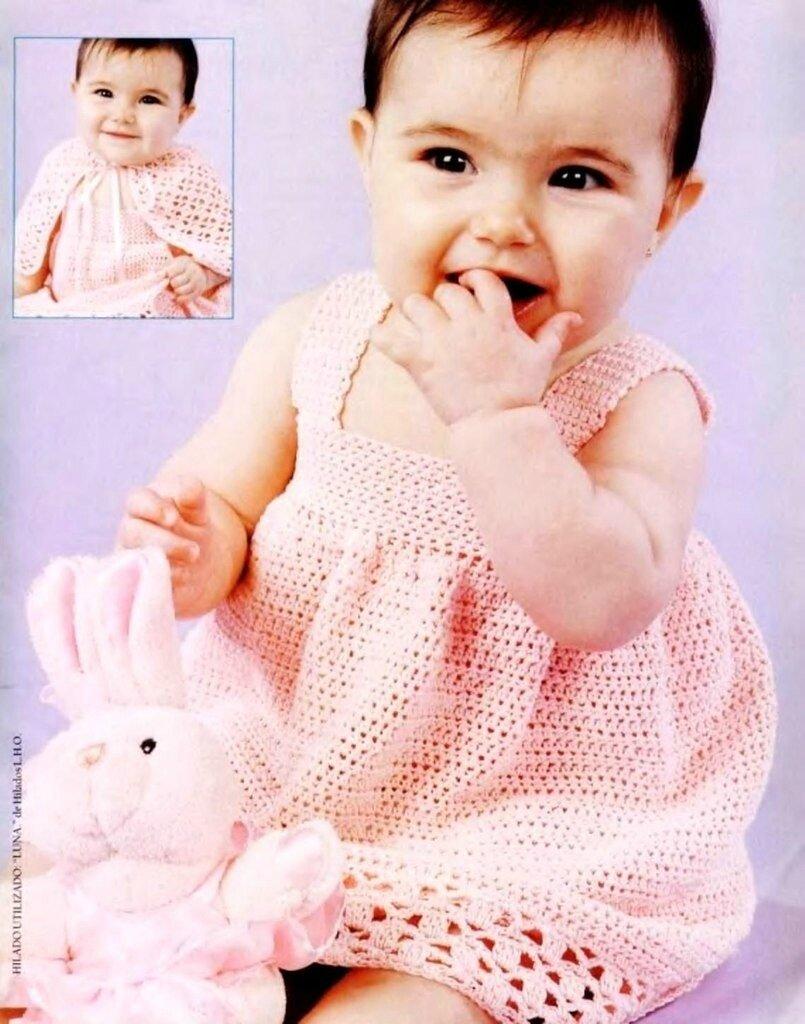 Вязание крючком для детей на 12 месяцев