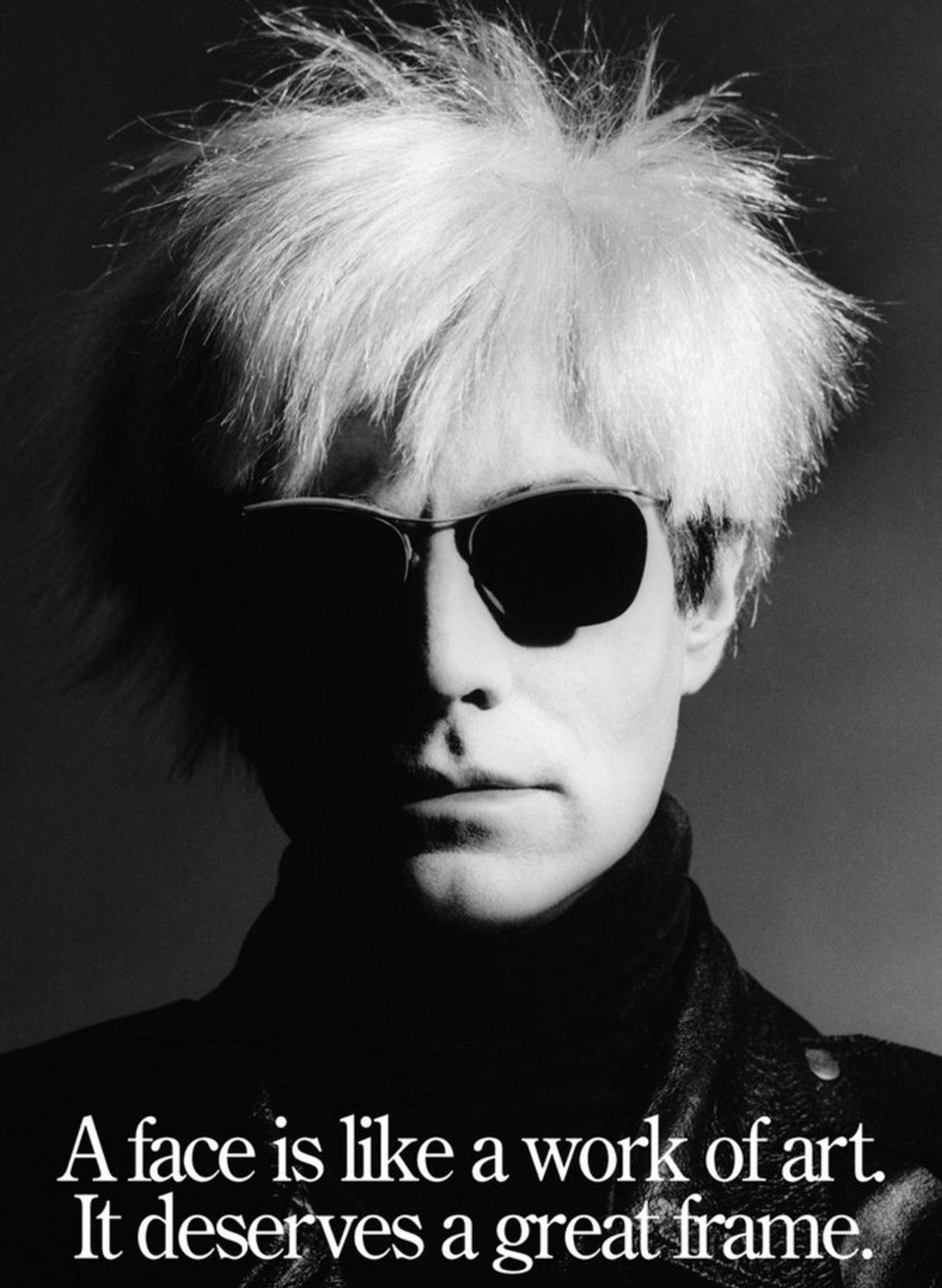 Andy Warhol / Энди Уорхол - портрет фотографа Грега Гормана / Greg Gorman