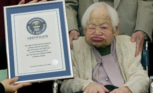114-летняя японка стала самой красивий старой жительницей планеты