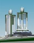 Башни-близнецы на ул. Короленко