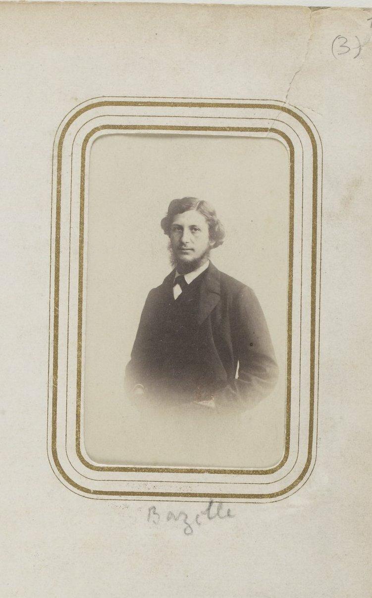 Жан-Фредерик Базиль (6 декабря 1841, Монпелье, Франция - убит в бою 28 ноября 1870 года) - художник-импрессионист