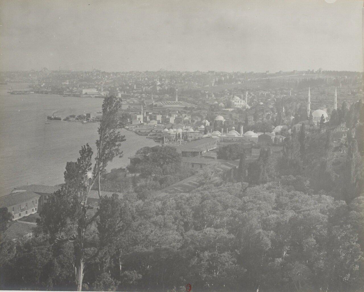 Турция. Константинополь. Панорама города.