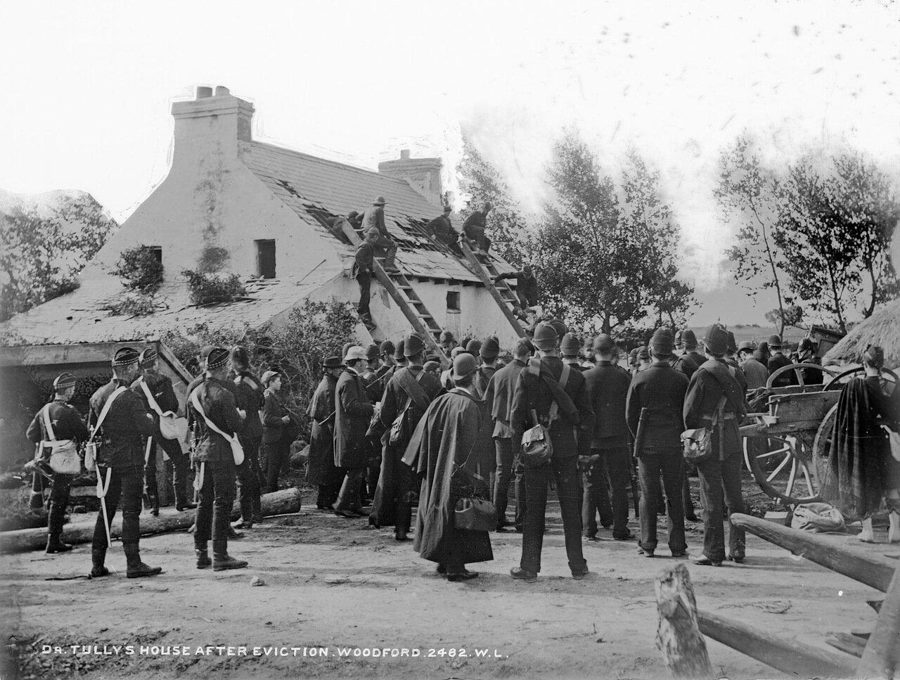 Дом доктора Талли после выселения жильцов 1888.