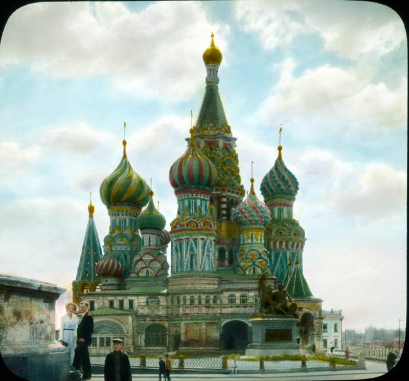 Москва. Храм Василия Блаженного