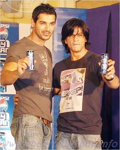 Shahrukh Khan & John Abraham - Pepsi ad