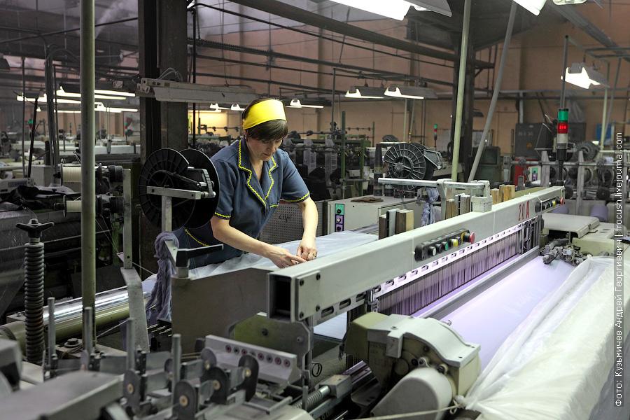 ткацкое производство шерстяной ткани
