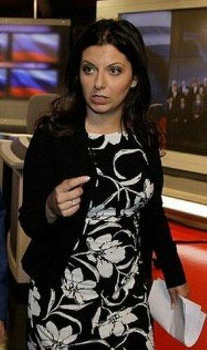 Главный редактор телеканала RT Маргарита Симоновна Симоньян