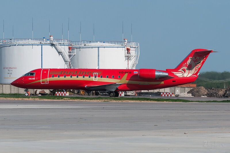 Bombardier CRJ-200ER (VQ-BFB) Rusline DSC0291