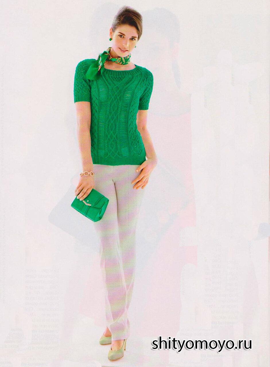 夏季绿色的T恤 - maomao - 我随心动