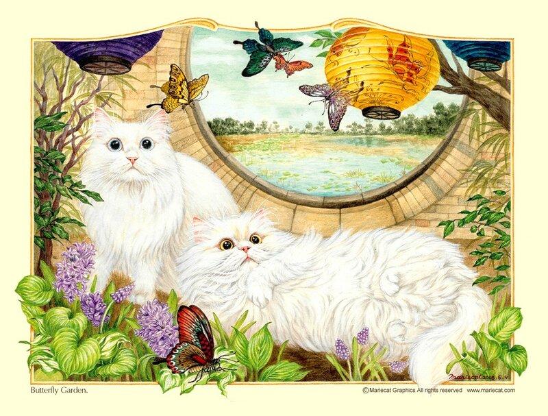 Фантастические кошки малайзии