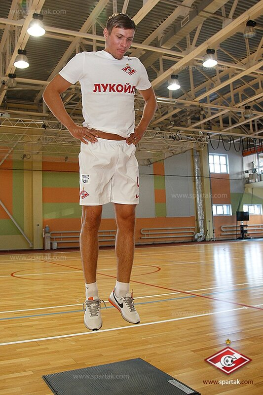 Футболисты «Спартака» прошли медобследование (Фото)