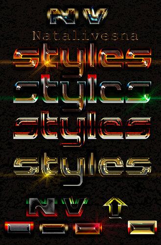 Стили для Дизайна с эффектом Блеска 0_c9594_59652d75_L
