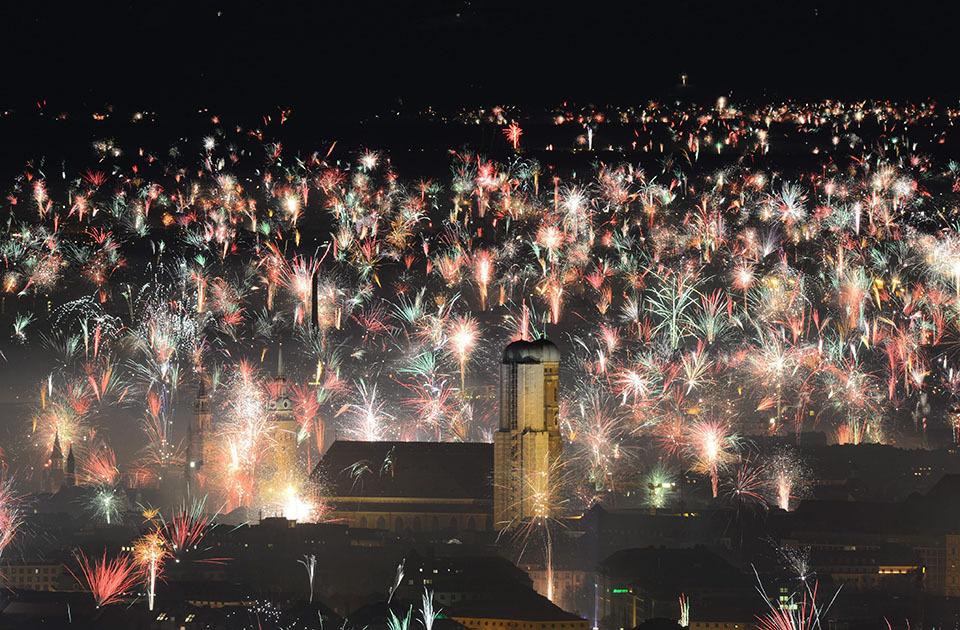 Прошел новый 2013 год в разных странах
