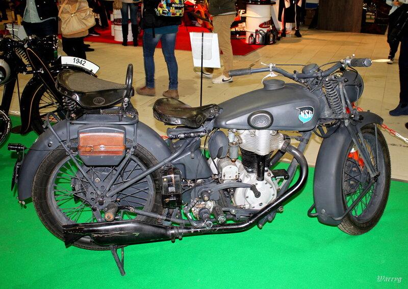 Немецкий мотоцикл NSU 601 OSL WH 1938 г.в.