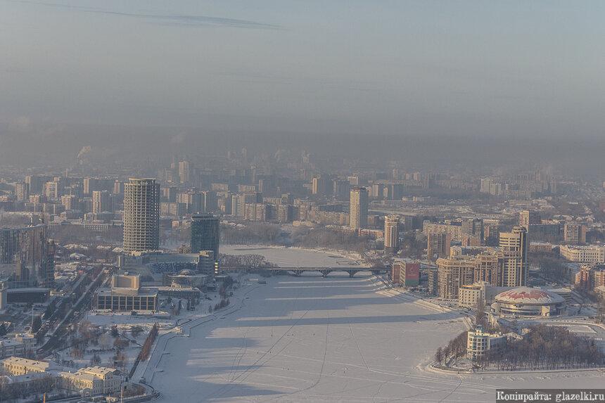 Макаровский мост. Екатеринбург.