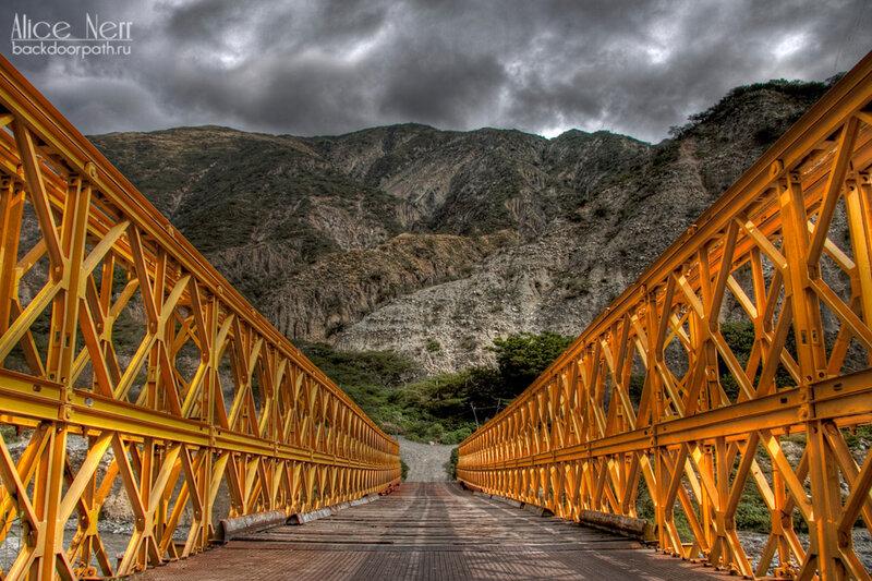 трагичный мост по дороге на экзит