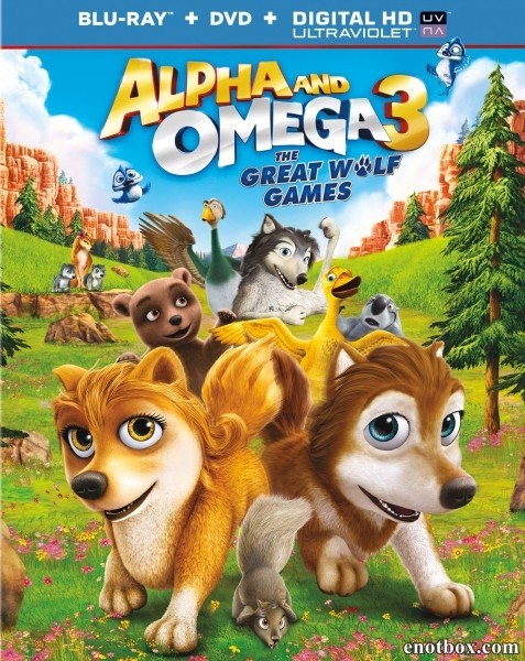 Альфа и Омега 3 / Alpha and Omega 3: The Great Wolf Games (2014/BDRip/HDRip)