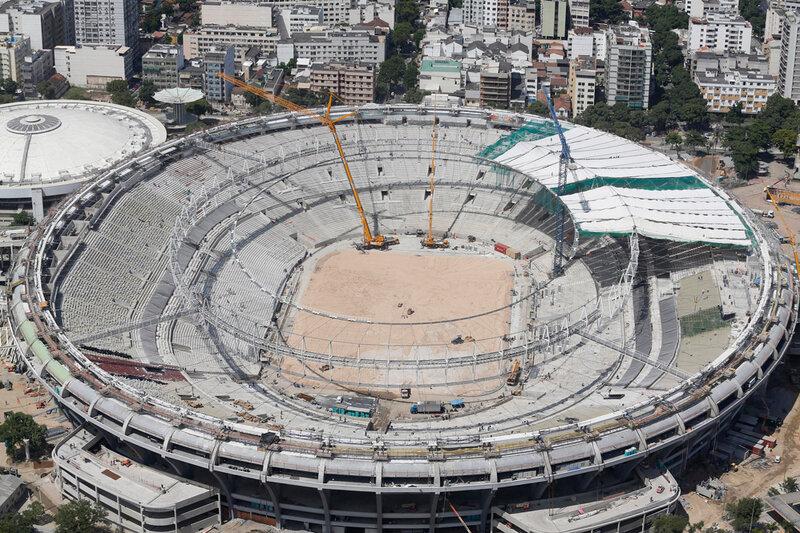 Стадион Маракана готовится к чемпионату мира 0 d9b7b d414a0eb XL чемпионаты футбол фотографии стадионы Рио де Жанейро реконструкции Маракана Бразилия