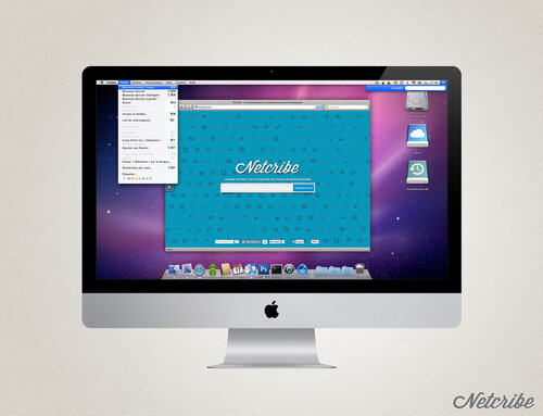 Netcribe: Apple iMac PSD