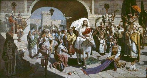 картинки вход господня в иерусалим