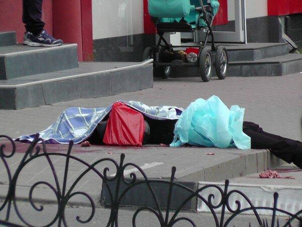 В центре Белгорода только что застрелили 5 людей