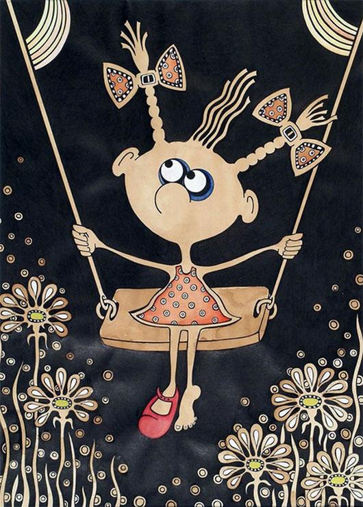 Короткие добрые сказки на ночь успокоят кроху и подарят чудесные сны. Короткая сказка об одном дне проведенном маленькой девочкой Наташей с ее бабушкой.