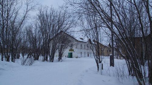 Фото города Инта №2833  Коммунистическая 4, 3 и 5 31.01.2013_13:33