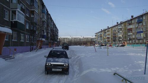 Фото города Инта №3639  Мира 32, Северная 1 и Мира 30 19.02.2013_12:10