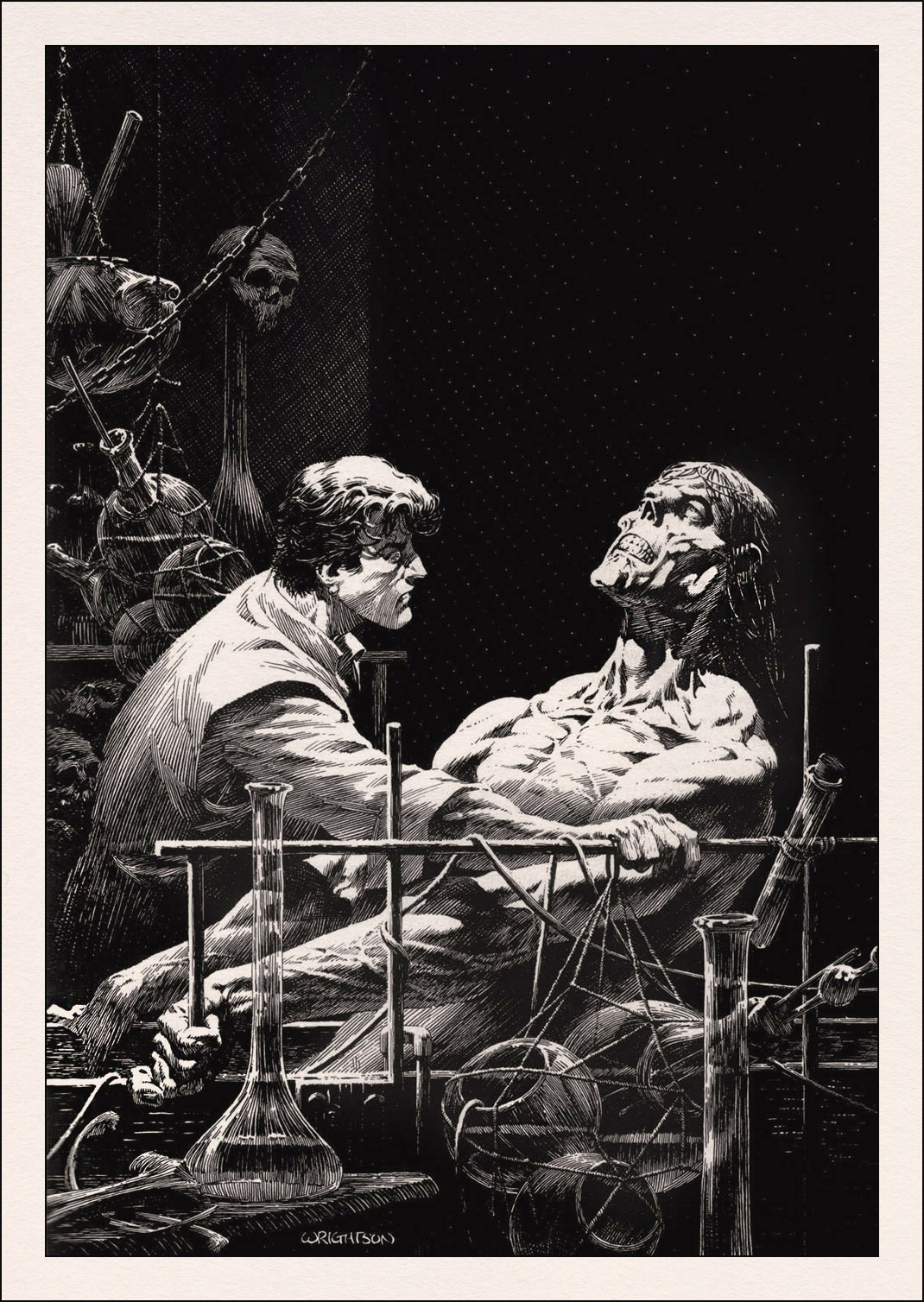 the change of thoughts by the antagonist and protagonist in frankenstein by mary shelley The frankenstein characters covered include: victor frankenstein frankenstein mary shelley contents plot overview + summary & analysis victor frankenstein - the doomed protagonist and narrator of the main portion of the story.